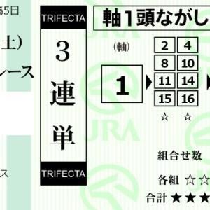★公開~購入馬券!★近走のうっ憤を晴らす1番グレートタイム!★東京11R新馬戦完結予想