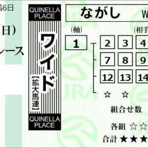 ★公開~購入馬券!★1番ラティーンセイルに穴馬が絡んでほしい!★東京9R完結予想