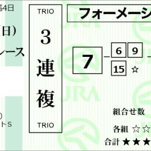 ★公開~函館SS購入馬券!★7番ライトオンキュー本命!★函館SS完結予想