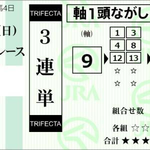 ★公開~購入馬券!★予想は難解も9番フライングバレルに期待!★新潟6R完結予想