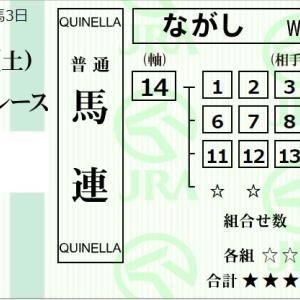 ★公開~購入馬券!★今年3勝目のチャンス~藤田菜七子騎手!★小倉8R完結予想
