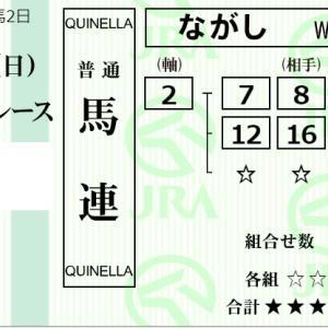 ★公開~購入馬券!★札幌開催は横山武史騎手に期待!★札幌9R完結予想