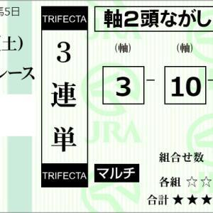 ★公開~購入馬券!★3番ウインドジャマーVS10番サトノワールド!★東京9R完結予想