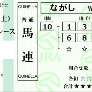 ★公開~購入馬券!★見てみたかった10番ロードレガリスの東京での走り!★東京10R完結予想