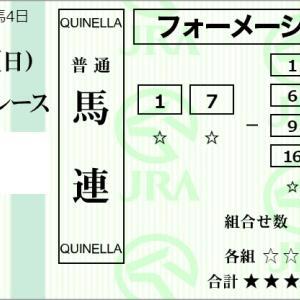 ★公開~購入馬券!★1番ジョーブリッランテに期待してみる!★札幌5R完結予想