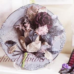 花束でブラックハロウィン