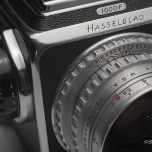 ハッセルブラッド1000Fにエクター80mm