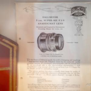 Dallmeyer Super-Six 5cm f1.9