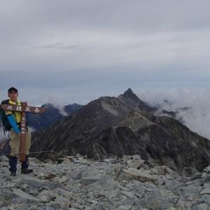 北穂高岳~奥穂高岳リベンジ登山(その2)