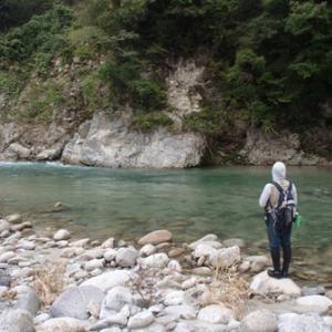 渓流釣り最終盤