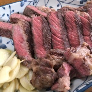 低温調理第三弾は、輸入牛肉ステーキ!