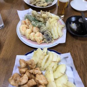 日曜ランチは天ぷら!
