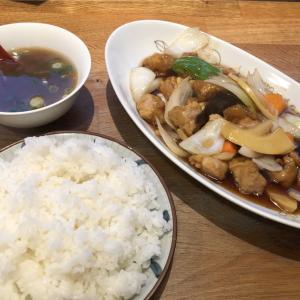 丸宮中華そば本店で酢豚を食す!