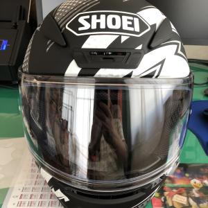 ヘルメットを新調しました SHOEI Z-7