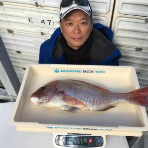 真鯛2655g(フィッシュダービー2020)Blue Bell