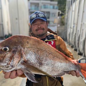 真鯛3020g(フィッシュダービー2021)おちから丸