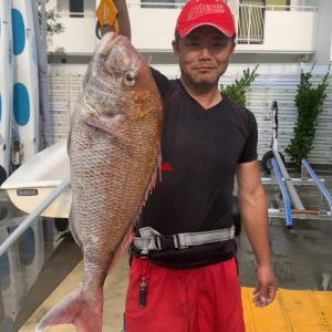真鯛4.2kg(フィッシュダービー2019)かっぴん丸