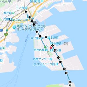 出張ラン❗️神戸ポートアイランドを走ってきました❗️