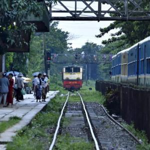 ミャンマー ・ レイルサイドストーリー  その5   ヤンゴン環状線④