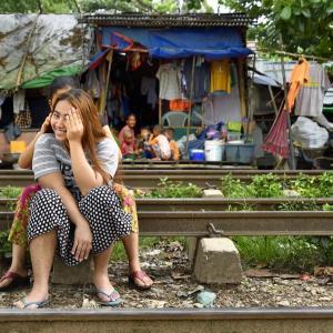 ミャンマー ・ レイルサイドストーリー  その6   ヤンゴン環状線⑤