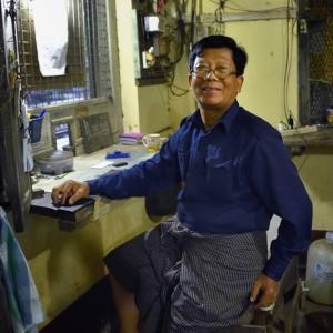 ミャンマー ・ レイルサイドストーリー  その7   ヤンゴン環状線⑥