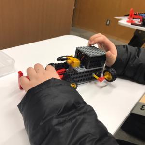 子供ロボット教室のお試し体験。