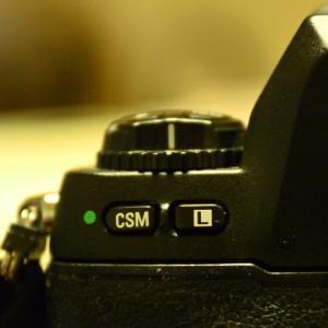 Nikon F100 カスタムセッティング(難解)