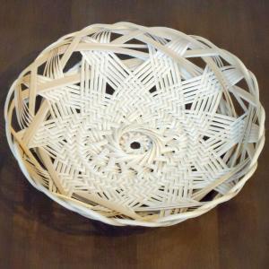 輪弧編み・輪口編みベースの竹篭作成キット