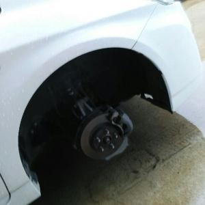 タイヤがパンクしちゃった