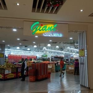 シンガポールのスーパーでの収穫 @ Giant(ジャイアント)