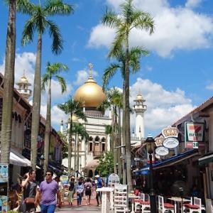 シンガポール散策 @ アラブ・ストリート ~ ブギス・ストリート ~ チャイナタウン