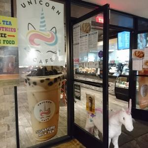ハワイでタピオカミルクティー @ ユニコーン・カフェ