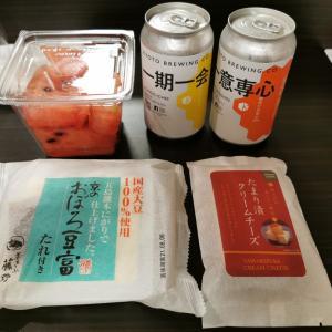 京都・ディナーはスーパーで買い出し @ エビスク七条