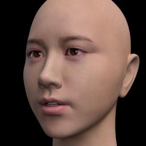 頭部を製作する -205-