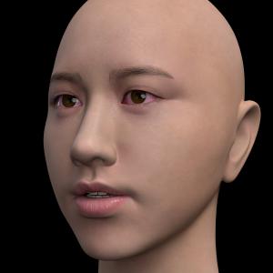 頭部を製作する -203-