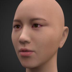 頭部を製作する -209-