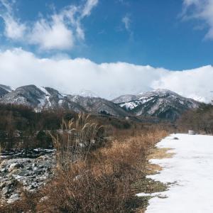 白馬 日本百選の景観!
