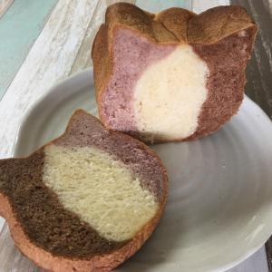 ネコ型パンでパンを作ってみたよ!
