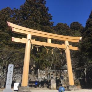 戸隠神社に行って来ました。中社へ。