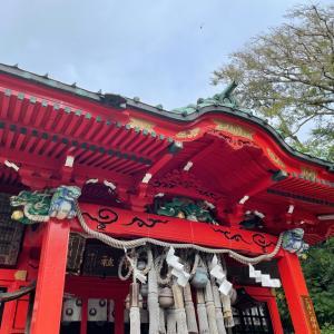 三浦 海南神社へ。