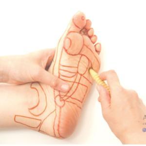 足つぼをして、子宮筋腫が1センチくらい小さくなっているとのことでした!