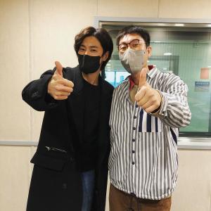 1/28 パワーFM キム・ヨンチョルさんインスタ…ユノと2ショット