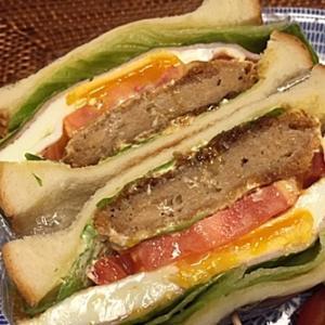 食欲の秋&サンドイッチと華もち栗あん