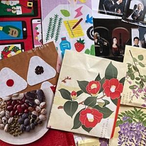 チラシや包装紙で作るポチ袋とゴミ袋~♬