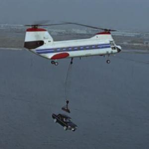 【007は二度死ぬ・特集】ヘリコプター研究(川崎バートル107-II-2・大海の一滴)