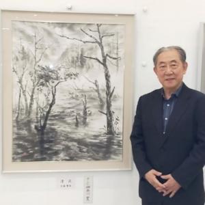 墨神会水墨画展 2021年 スナップ写真