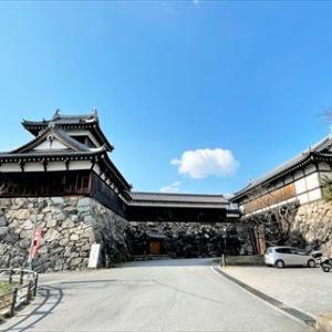 大和郡山城のさかさ地蔵 続日本100名城