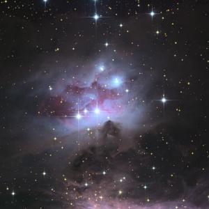 NGC1977を撮影した責任はワタクシにある。