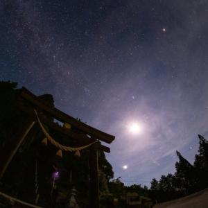ペルセウス座流星群2020。明るい流れ星が出現したときの、好きな歓声。