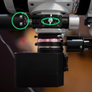 BKP130に汎用電動フォーカサーKHMを取り付ける、など、夏。